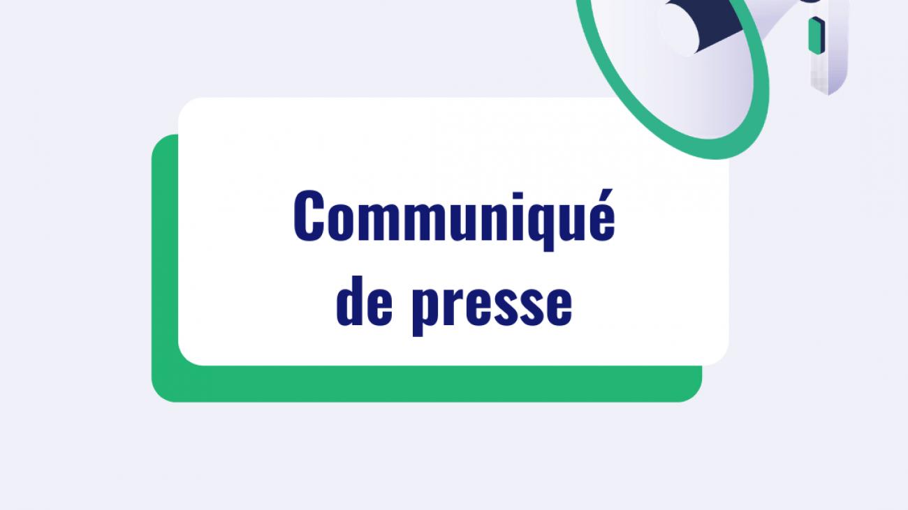 Gabarit site internet communiqué de presse